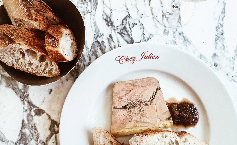 Lunch «Chez Julien Paris»